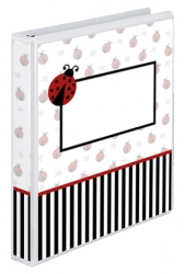 Ladybug Cookbook Cover Design